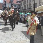Dem Festzug voran zog die Stadtgarde (Foto Hempel)