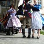 Tanzgruppe Taliga aus Isztimer, Ungarn