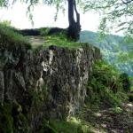 An der Ruine Alter Lichtenstein