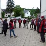 In Gellmersbach vor der Kettenkirche