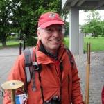 Der Organisator der Wimpelwanderungen Eugen Kramer