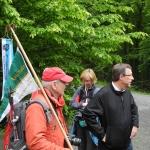 Die Wimpelgruppe unterwegs nach Weinsberg