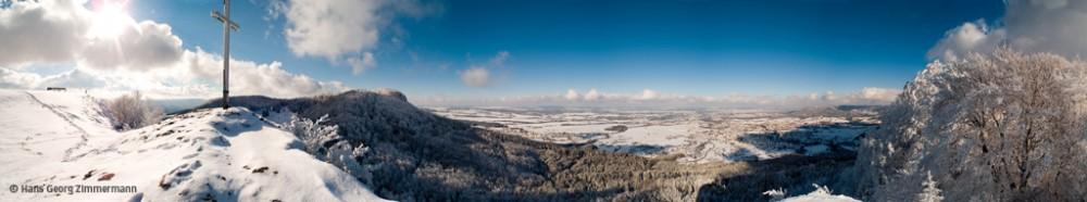 Die Lochen bei Balingen im Winter • Foto: Hans Georg Zimmermann