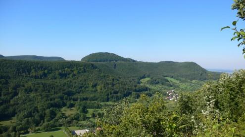 Blick vom Barmkapf auf den Roßberg