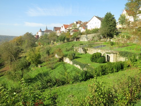 Langenburg, Schlossberghang