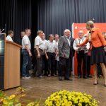 Gratulation zum Kulturlandschaftspreis, Foto: A. Schramm