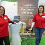 CMT: Heidi Müller und Hauptgeschäftsführerin Annette Schramm, Foto: S. Wächter