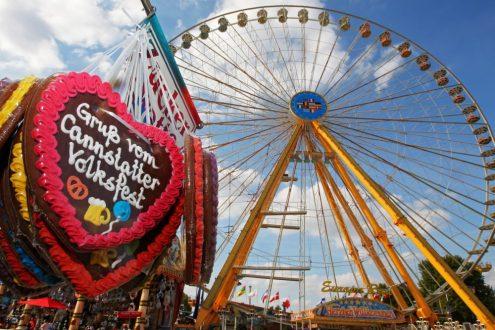 Cannstatter Volksfest 2021, Klauss Und Klauss Dinkelacker, 27. September