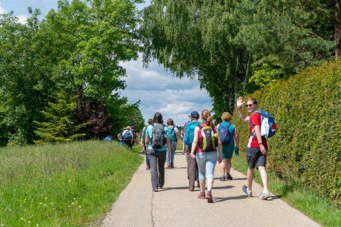 Endlich wieder gemeinsam wandern! Foto: Schwäbischer Albverein